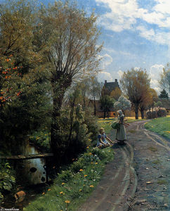 Peder Mork Monsted - 川、Brondbyvesterによる