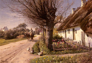 Peder Mork Monsted - コテージで Hjornbaek