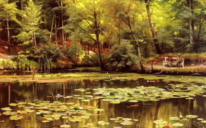 Peder Mork Monsted - 睡蓮