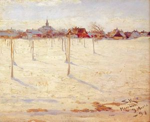 Peder Severin Kroyer - オーンエークアンinvierno