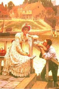 Edmund Blair Leighton - 求愛1