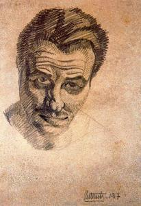 Emilio Pettoruti - Self-portrait 1