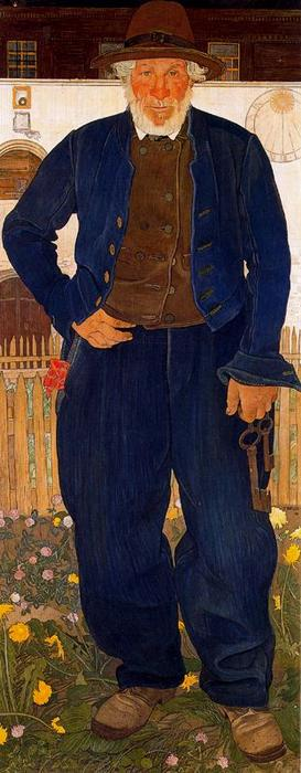 地下室への鍵 バイ Ernest Bieler (1863-1948, Switzerland)