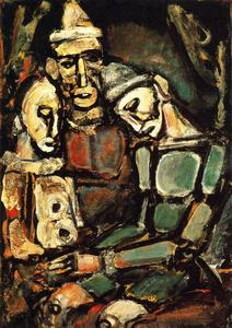 Georges Rouault - 三ピエロ