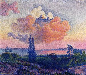 Henri Edmond Cross - ピンクの雲