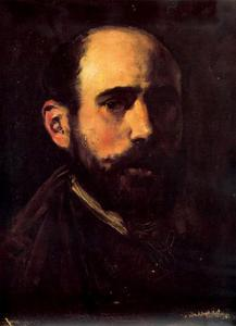 Ignacio Pinazo Camarlench - Self-portrait 2