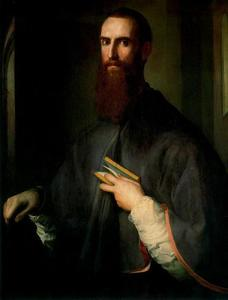 Jacopo Carucci (Pontormo) - ニコロ·Ardinghelliの肖像