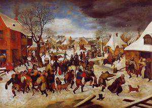 Pieter Bruegel The Younger - 罪の虐殺