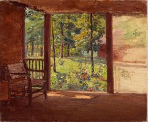 Theodore Clement Steele - a 表示する から `porch`