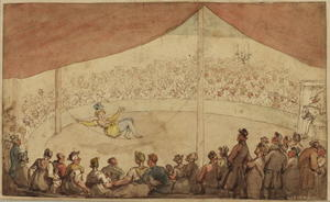Thomas Rowlandson - サーカス