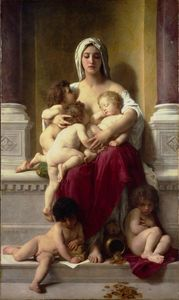 William Adolphe Bouguereau - チャリティ