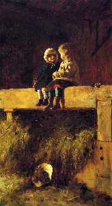 Jonathan Eastman Johnson - Confab