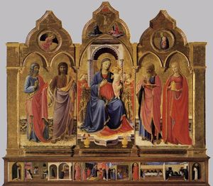 Fra Angelico - コルトーナのPolyptych