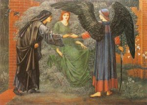 Edward Coley Burne-Jones - ハート の ザー バラ