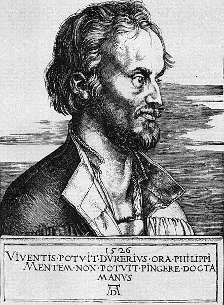 フィリップ·メランヒトンの肖像,...