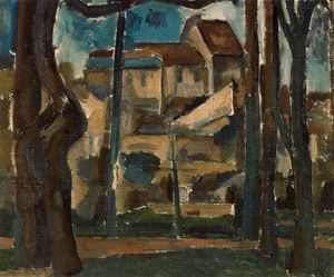 André Derain - の風景 Carrieres