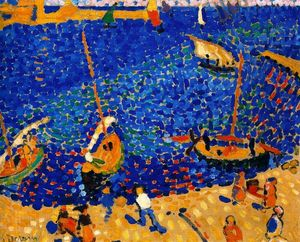 André Derain - コリウールでのボート