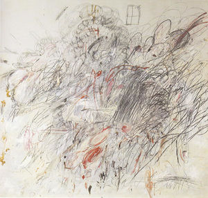 Cy Twombly - レダと白鳥