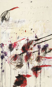 Cy Twombly - 四つ 季節 秋  一部  三