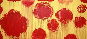 Cy Twombly - 無題(Peoniasシリーズ)