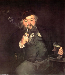 Edouard Manet - A 良い ガラス の ビール