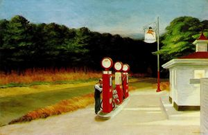 Edward Hopper - ガス
