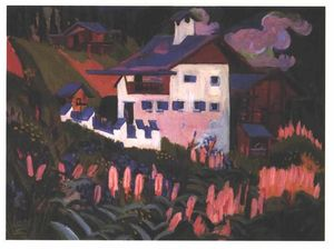 Ernst Ludwig Kirchner - メドウズの家