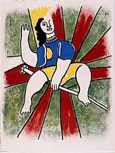 Fernand Leger - 'The album ''Circus'''