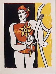 Fernand Leger - -The album --Circus--- ( 16 )