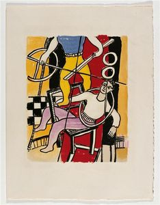 Fernand Leger - 'The album ''Circus''' ( 17 )