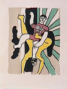 Fernand Leger - -The album --Circus--- ( 19 )