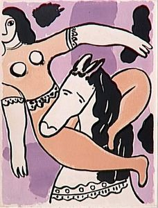 Fernand Leger - -The album --Circus--- ( 22 )