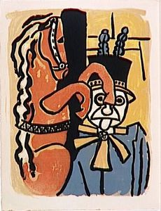 Fernand Leger - -The album --Circus--- ( 28 )