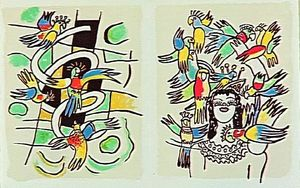 Fernand Leger - -The album --Circus--- ( 54 )