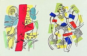 Fernand Leger - -The album --Circus--- ( 56 )