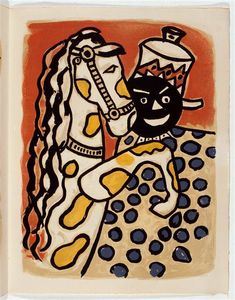 Fernand Leger - -The album --Circus--- ( 58 )