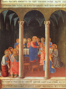Fra Angelico - communion` の 使徒