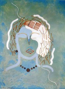 Francis Picabia - マッチ女