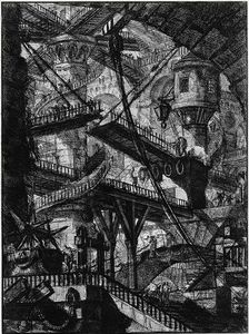 Giovanni Battista Piranesi - ザー 刑務所