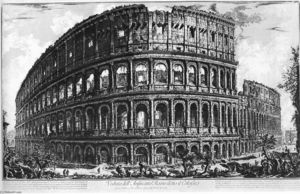 Giovanni Battista Piranesi - Veduteのディローマ(25)