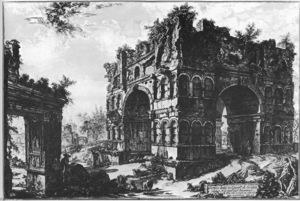 Giovanni Battista Piranesi - Veduteのディローマ(64)