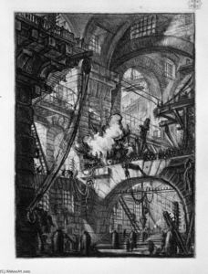 Giovanni Battista Piranesi - ザー 喫煙  火