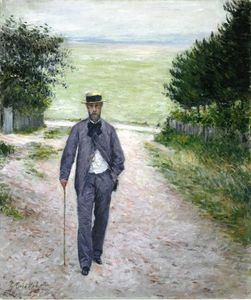 Gustave Caillebotte - で 海