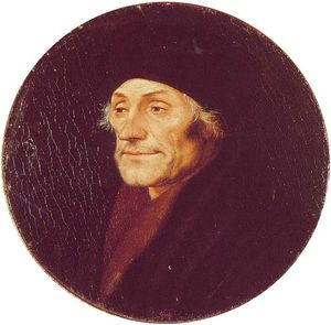 Hans Holbein The Younger - デシデリウスエラスムス