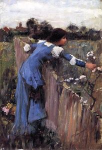 John William Waterhouse - フラワーピッカー