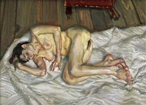 後 朝食, 2001 バイ Lucian Freud (1922-2011, Germany) |  | WahooArt.com