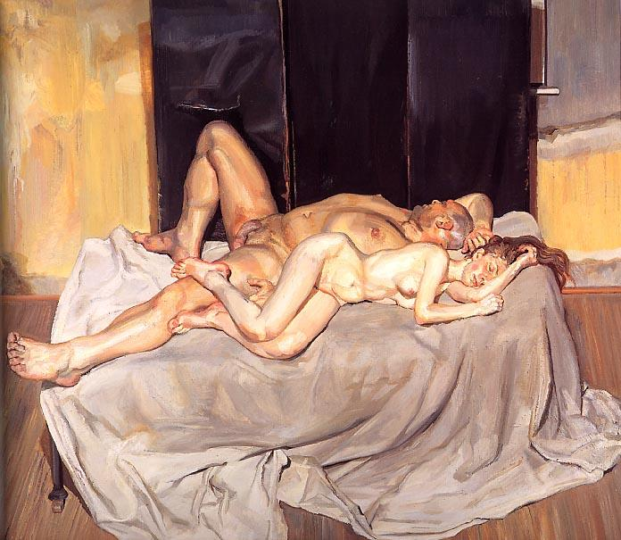 と花婿, 2001 バイ Lucian Freud (1922-2011, Germany) |  | WahooArt.com