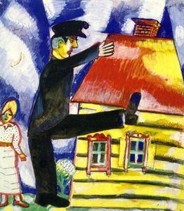 Marc Chagall - 出動