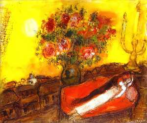 Marc Chagall - スカイinflames