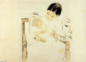 Mary Stevenson Cassatt - Befooted子供